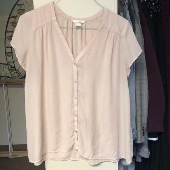 H&M Tops - Pink Blouse